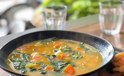 minestrone sopa