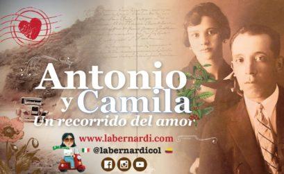 Camila Ospina y Antonio Bernardi
